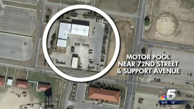 Fort Hood 2014 Shooting Map