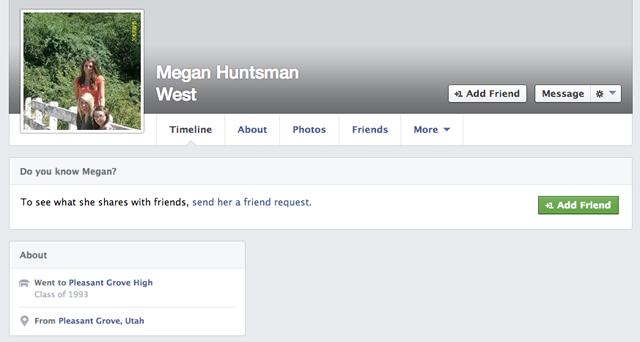 Megan Huntsman Facebook