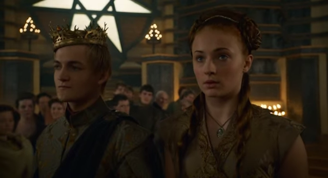 sansa stark, who killed joffrey