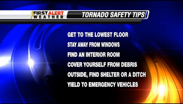 Tornado tips