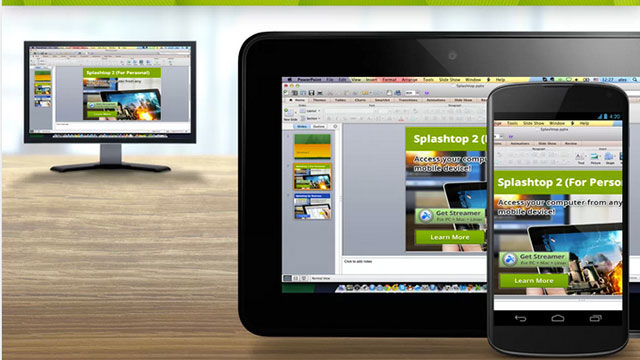 splashtop remote desktop android app