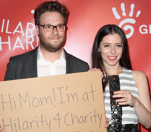 The Alzheimer's Association, seth rogen lauren miller charity, hilarity for charity