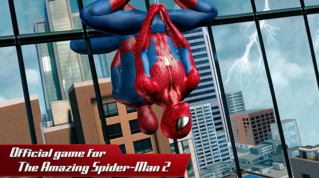 the amazing spider-man 2 android app