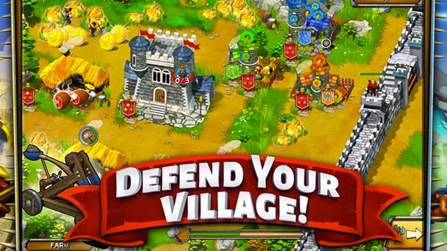 the wall medieval heroes android app