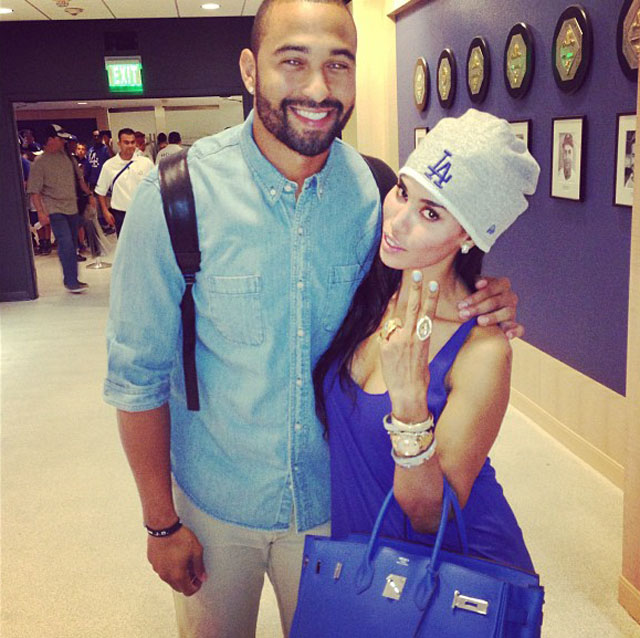 v stiviano and matt kemp instagram
