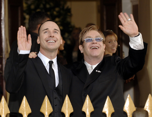 David Furnish And Elton John, Elton John's Husband David Furnish, Elton John Husband David Furnish, David Furness, Elton John Wedding
