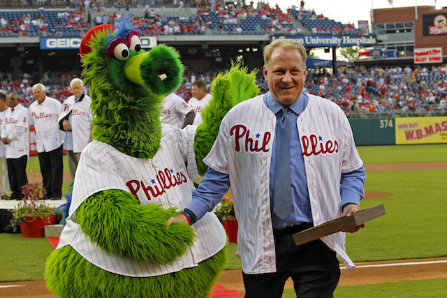 Curt Schilling, Philly Phanatic, Phillies
