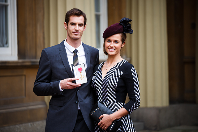 Investitures at Buckingham Palace- kim sears