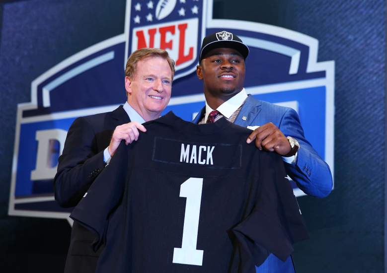 Khalil Mack, NFl Draft, Oakland Raiders, Buffalo