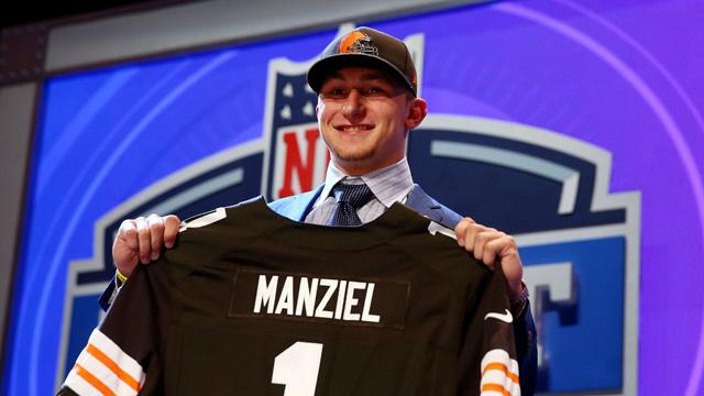 Johnny Manziel draft