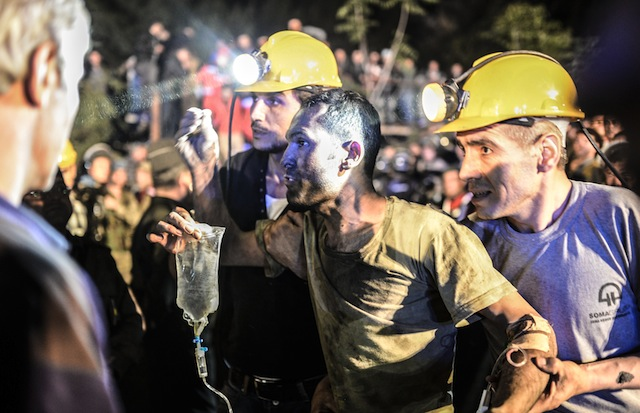 turkey coal miners rescued