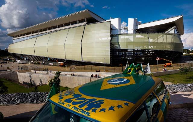 World Cup stadium odds 2014