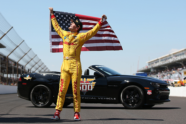 98th Indianapolis 500 Mile Race- Ryan Hunter-Reay