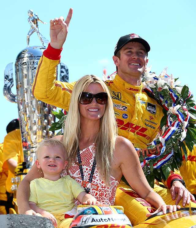 98th Indianapolis 500- Hunter -reay, Beccy Hunter-reay