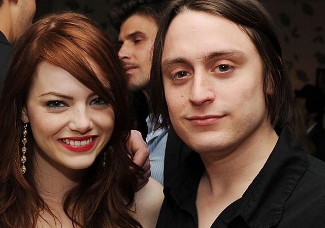 emma stone ex boyfriend, emma stone and kieran culkin, emma stone dated