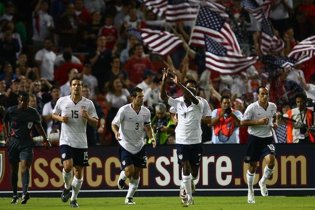 u.s. national team, soccer, damarcus beasley