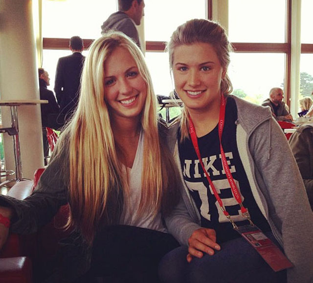 Beatrice Bouchard, Eugenie Bouchard twin sister