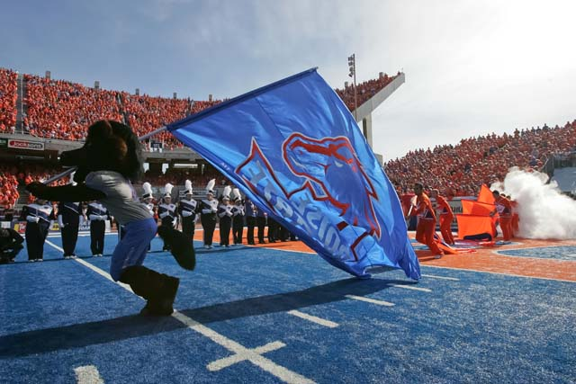 The Boise State Broncos fight to help Turner's situation.