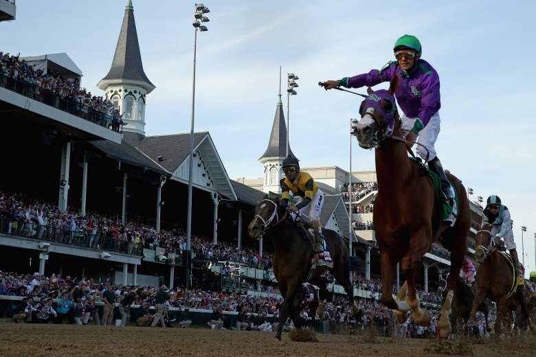 California Chrome won the 2014 Kentucky Derby. (Getty)
