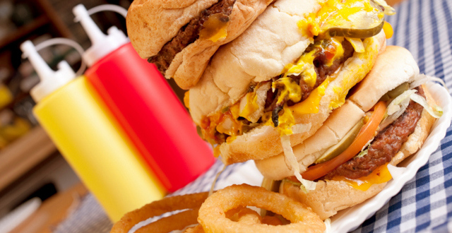 food inflammation burgers