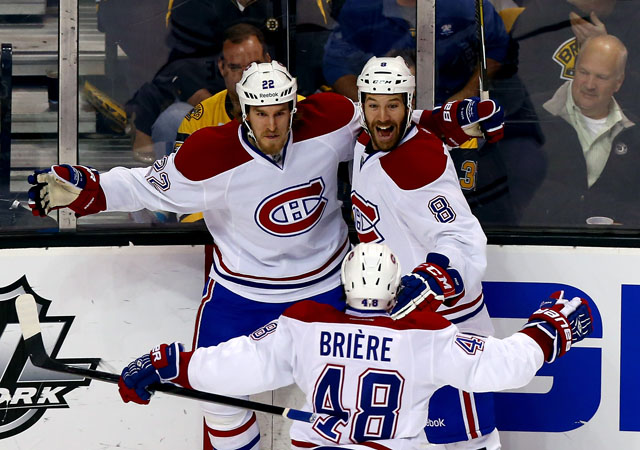 Montreal Canadiens, Boston Bruins, Dale Weis, Daniel Briere, goal