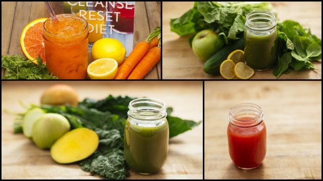 Juice Cleanse Reset Diet Recipes