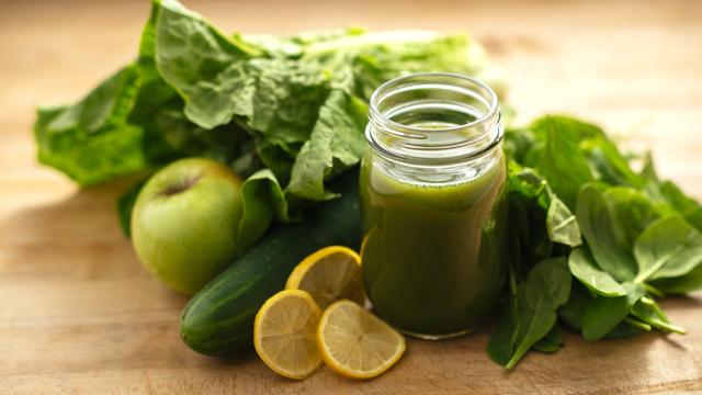 lemon green juice recipe