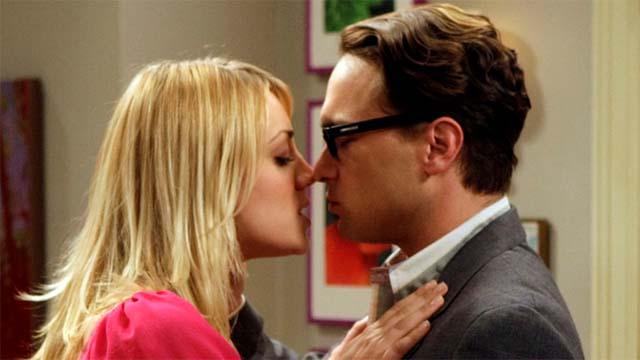 leonard and penny kiss, leonard and penny sex