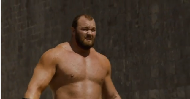 the mountain dies game of thrones pictures