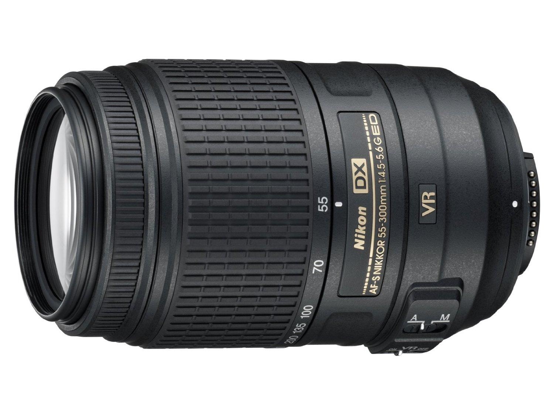 Nikkor 55-300 telephoto lens