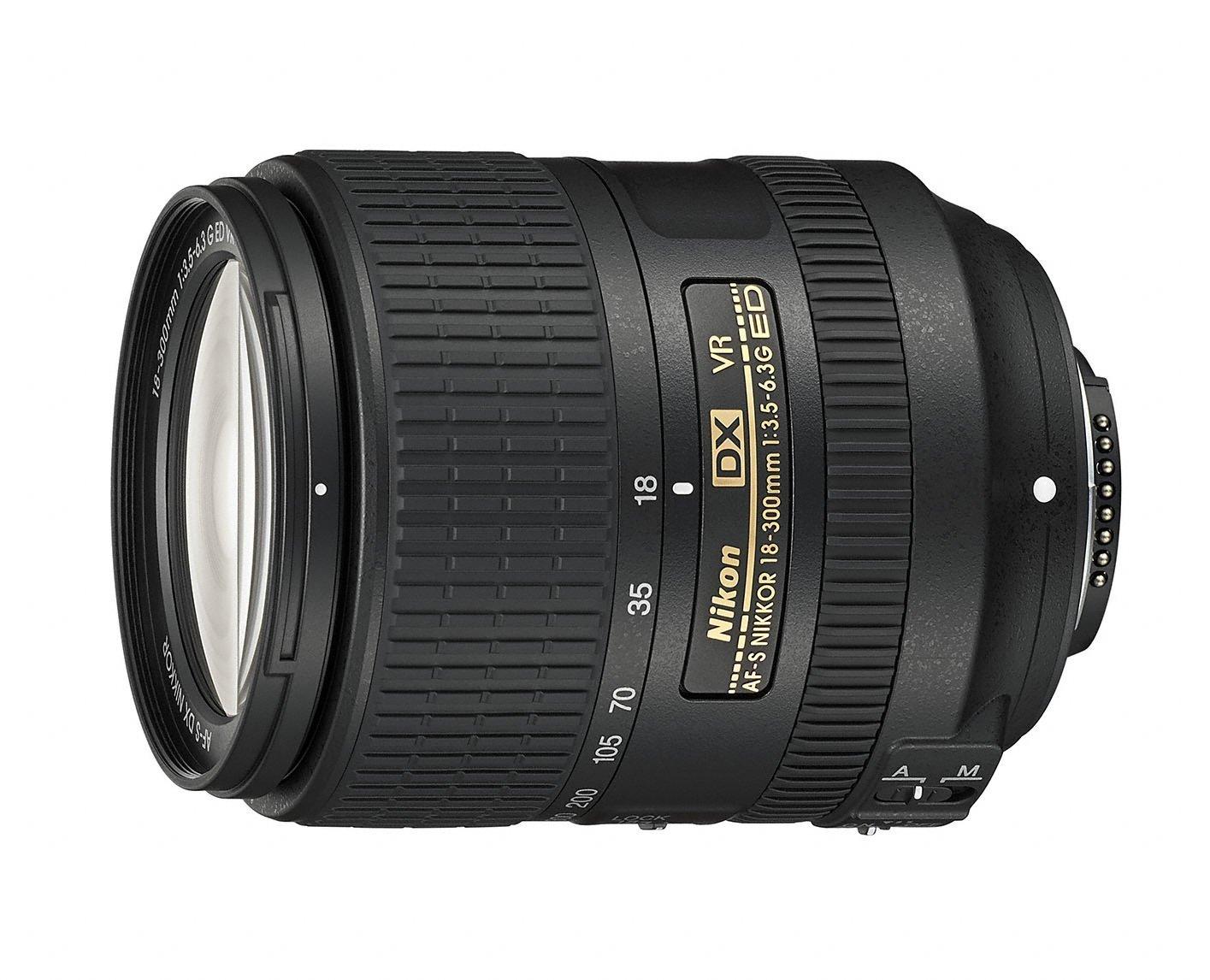 Nikon 18-300mm telephoto lens