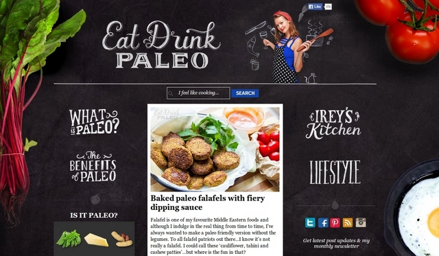 Paleo recipes and drinks