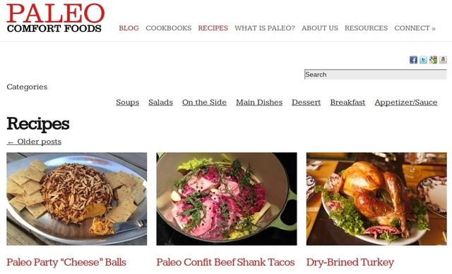 Paleo recipes online