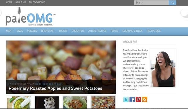 Paleo recipes sites