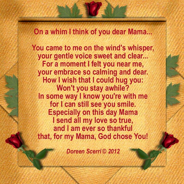 Mother's Day 2014 Poems, Mother's Day 2014 Quotes, Mom Poems, Remembering Your Mother, Mothers Day Poems 2014, Mom Poems 2014