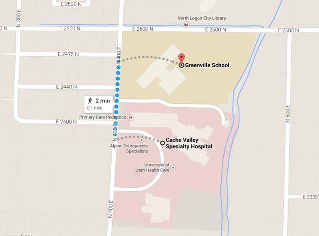 Google Maps Cache Valley Hospital
