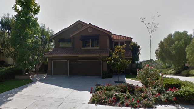 Sheer family home Mission Viejo