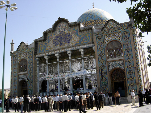 An example of the classic Iranian architecture in Qazvin. (Wikipedia)