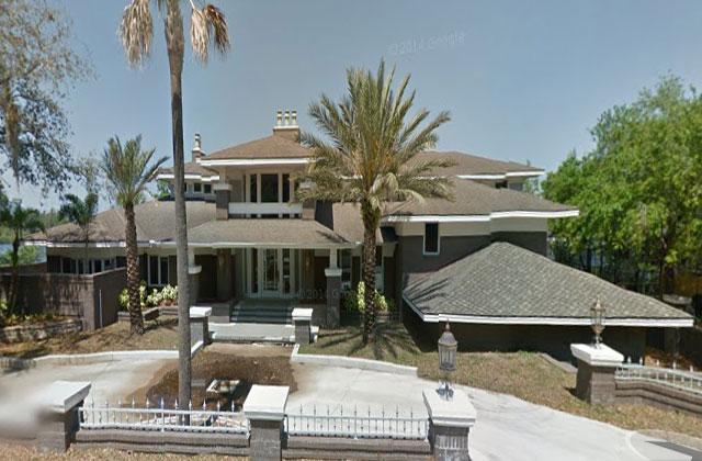 Steven Schwartz's home at 1310 Belcher Drive in Tarpon Springs, Florida. (Google Maps)