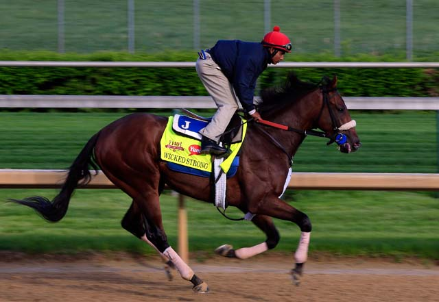 Wicked Strong, Kentucky Derby