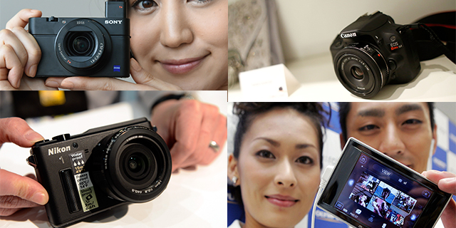 cameras, digital cameras, best cameras, canon, nikon, olympus, pentax, sony