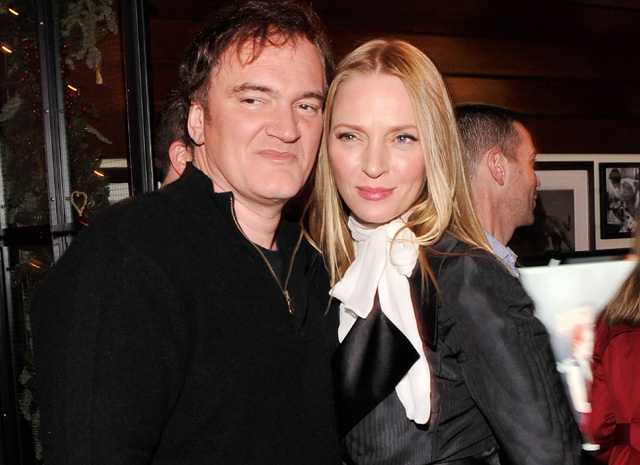 quentin tarantino dating, celebrity couples