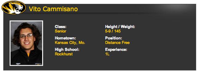 Vito Cammisano, Michael Sam boyfriend