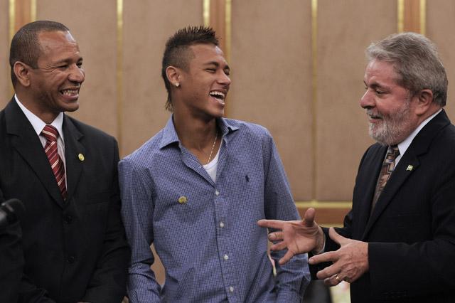 Neymar's father Neymar da Silva