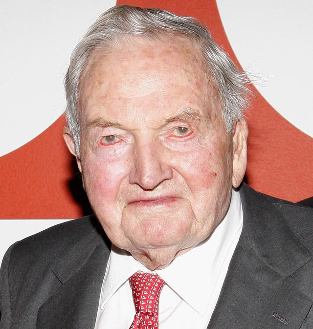 David Rockefeller Dead 1