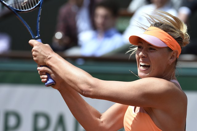 Maria Sharapova, Eugenie Bouchard, French Open semifinals