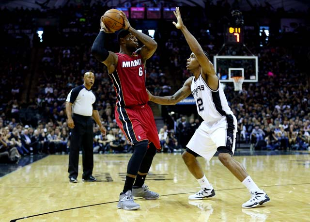 LeBron James Game 1 NBA Finals