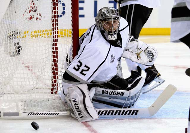 Jonathan Quick Saves Stanley Cup Madison Square Garden Game 3 Stanley Cup Rangers