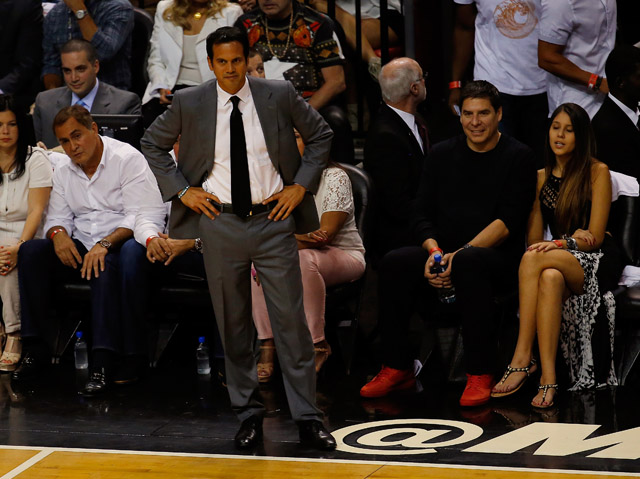 Erik Spoelstra Game 3 NBA Finals