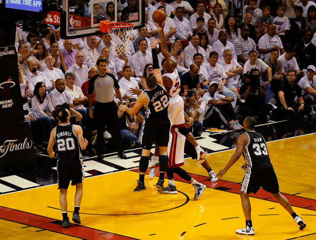 Ray Allen Game 3 NBA Finals